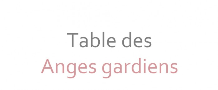 Plan de table et nom de table – templates photoshop à télécharger